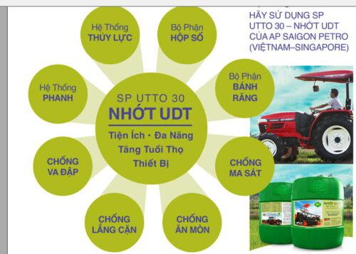Dầu nhớt UDT UTTO 30 chính hãng